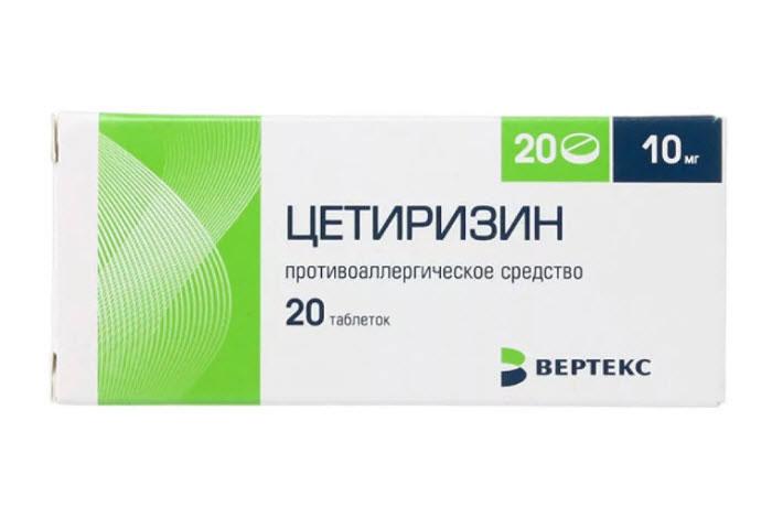 Таблетки от крапивницы у взрослых
